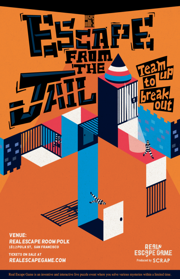 Escape from the Jail | REAL ESCAPE GAME Created by SCRAP ...